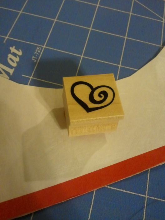 Upcycling - Recycling Postal Mailers into Valentine's Day Heart Cupcake Picks