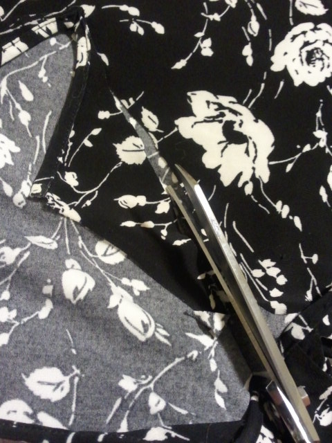 remaking a keyhole shirt
