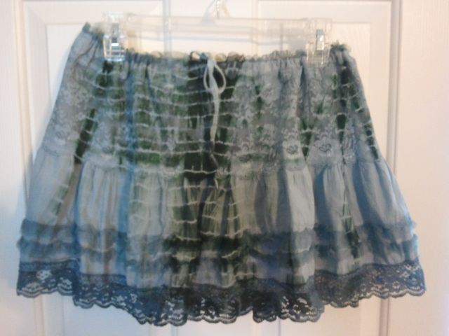Repurposing a Skirt for St. Patty's Day