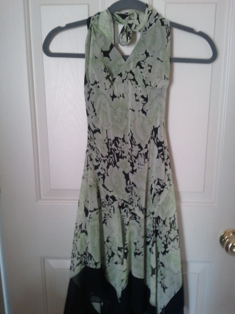 Upcycling a Dress into a Skirt
