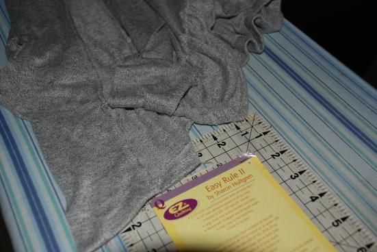 Refashion a Vest Into a Feminine Ruffle Shirt