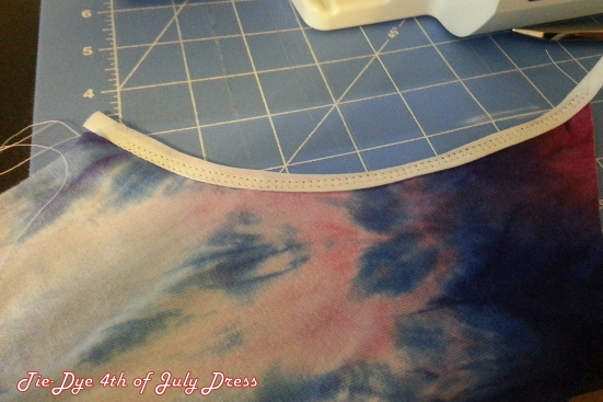 Remaking Tie-Dye 4th of July Dress #upcycle #refashion #sewing http://www.upcycledfashionista.com