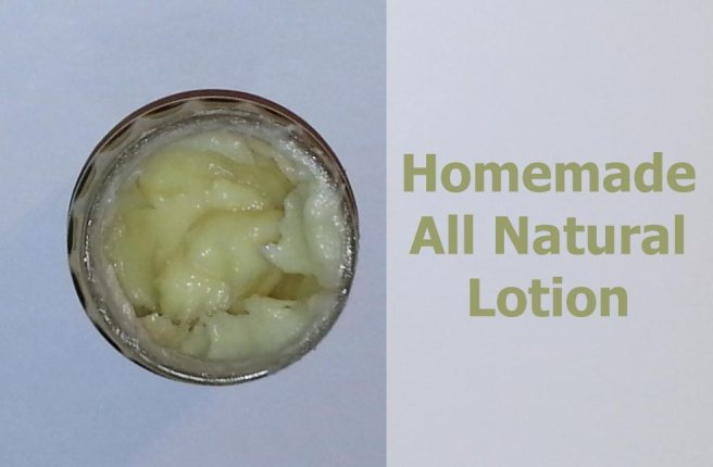 How to make homemade all-natural lotion