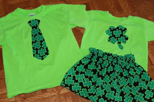 St. Patty's Day Applique T-Shirts