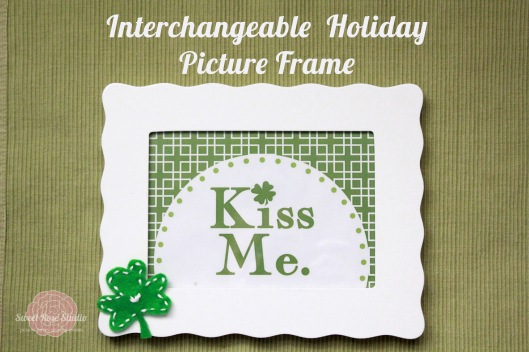 Interchangeable Holiday Picture Frame