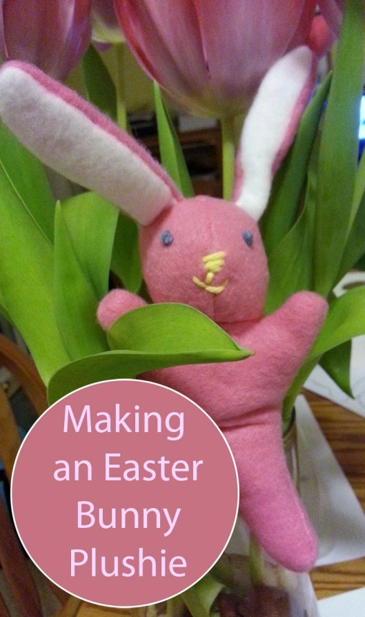 Making a Plushie Easter Bunny ... Here Comes Peter Cottontail!