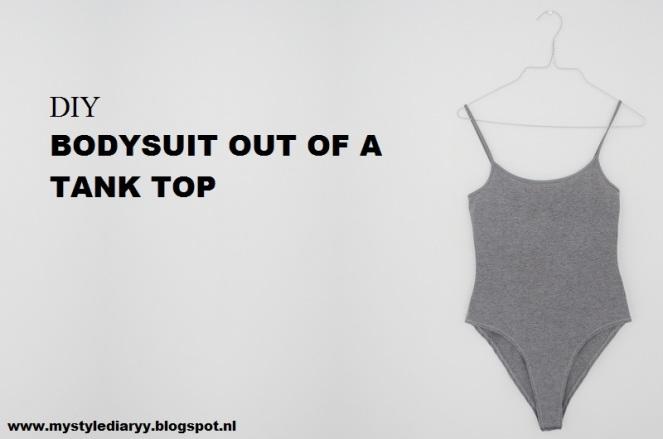 diy bodysuit from a tank top